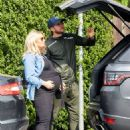 Danielle Armstrong – Showing baby bump with Tom Edney in Essex - 454 x 586
