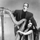Yvonne De Carlo and Fred Gwynne