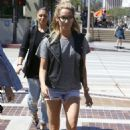 Ashley Tisdale Out and About In Pasadena