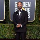 Michael B Jordan At The 76th Golden Globe Awards (2019) - 400 x 600
