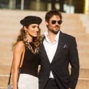 Nikki Reed and Ian Somerhalder – Outside the Armani Show at Paris Fashion Week Haute Couture FW 2019-20