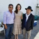 Angelina Jolie attends the Cambodia Town Film Festival in California