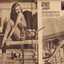 Lana Turner - Filmjournalen Magazine Pictorial [Sweden] (30 June 1939) - 454 x 313