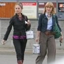 Kristin Kreuk and Allison Mack – Shopping in Vancouver - 454 x 497