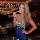 Nina Agdal At Andreas In Encore Beach Club In Wynn Las Vegas