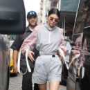 Kendall Jenner in shorts out and about in NYC