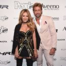 Geraldine Bazan and Gabriel Soto- People en Espanol's 50 Most Beautiful Gala 2017 - Arrivals - 399 x 600