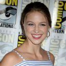 Melissa Benoist – 'Supergirl' Press Line at Comic-Con 2016 in San Diego - 454 x 554