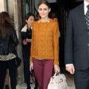 Olivia Palermo: out the fabulous new looks at the Mulberry runway show as part of London Fashion Week
