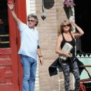 Goldie Hawn and Kurt Russell spotted at Lil Dom's in Silver Lake Saturday October 15, 2016 - 454 x 545