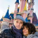 Halle Berry and Olivier Martinez Candids In Disneyland Paris