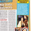 Olivia de Havilland - Zycie na goraco Magazine Pictorial [Poland] (13 August 2020)