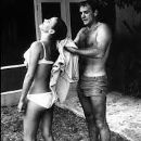 Sean Connery and Claudine Auger - 190 x 265