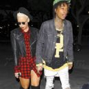 Amber Rose and Wiz Khalifa at the Jay Z Concert at the Staples Center in Los Angeles, California - December 9, 2013 - 454 x 683
