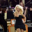 Emma Bunton spices up the stage