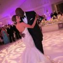 Michael Jordan and Yvette Prieto dance together after their marriage ceremony on April 27, 2013 in Palm Beach Florida