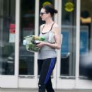 Anne Hathaway Out and About In Long Island