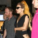 Lady Gaga's Nobu Night Out in Perth