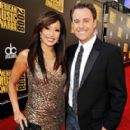 Carrie Ann Inaba With Chris Harrison