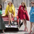 Mary Elizabeth Winstead Bar Refaeli Elle 30th Anniversary Portfolio 2015