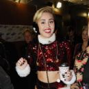 Miley Cyrus performs onstage during KIIS FM's Jingle Ball 2013 at Staples Center on December 6, 2013 in Los Angeles, CA