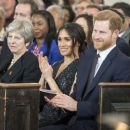 Prince Harry Windsor and Meghan Markle : 25th Anniversary Memorial Service - 454 x 384