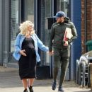 Danielle Armstrong – Showing baby bump with Tom Edney in Essex - 454 x 490