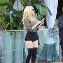 Courtney Stodden seen out and about In Los Angeles Friday, January 29, 2017 - 450 x 600