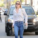 Ali Larter in Jeans Out in Los Angeles - 454 x 630
