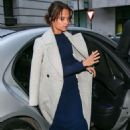 Alicia Vikander – Arriving at BBC Radio Two studios in London October 21, 2016