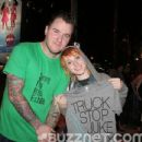 Hayley Williams and Chad Gilbert - 454 x 434