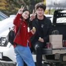 Camila Mendes and Charles Melton – Out in Vancouver