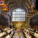 A very modern marriage: Harry and Meghan wed at St George's Chapel in Windsor in an extraordinary star-studded, multi-cultural ceremony, the likes of which the Royals have never seen - 454 x 671