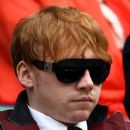 Rupert Grint and Oliver Phelps attended the Wimbledon tournament on June 24