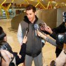 Helen Lindes accompanies Rudy Fernandez  in his NBA adventure