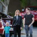 Kate Mara and Jamie Bell have a bowling date in Los Angeles - 454 x 597