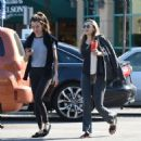 Elizabeth Olsen With a Friend – Out in Los Angeles 11/24/ 2016 - 454 x 478