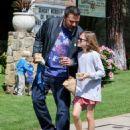 Ben Affleck and Jennifer Garner after church Sunday, March 26th, 2017 - 454 x 595