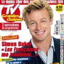 Simon Baker - TV Grandes chaînes Magazine Cover [France] (11 December 2010)