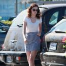 Rumer Willis: headed over to Whole Foods in Los Angeles