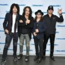 Kiss attends SiriusXM's Town Hall with KISS on October 29, 2018 in New York City - 454 x 312