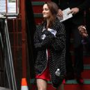 Leighton Meester-On Set Of Gossip Girl In New York-2010-10-05