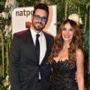 Catherine Siachoque and Miguel Varoni- Telemundo NATPE Party Red Carpet Arrivals