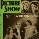 Paulette Goddard, Douglas Fairbanks Jr., Janet Gaynor, Gracie Fields - Picture Show Magazine Cover [United Kingdom] (25 March 1939)