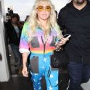 Kesha Sebert – Spotted at Lax Airport In Los Angeles - 454 x 676