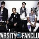 Bobby and the band he is in (Varsity Fanclub)