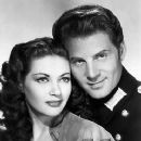 Yvonne De Carlo and Jean-Pierre Aumont