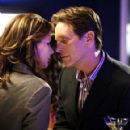 Rachel Griffiths and Steven Weber