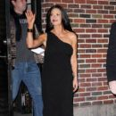 Catherine Zeta Jones: outside of the 'Late Show With David Letterman' in New York City