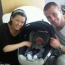 Dannii, Kris and baby Ethan